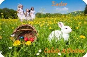 Easter Pic 1 Calisto & Destino